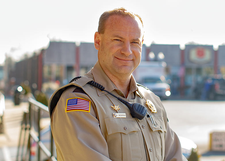 Williamson County Sheriff Candidate 2022, Jeff Diederich on the Square